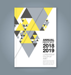 cover annual report 1145 vector image