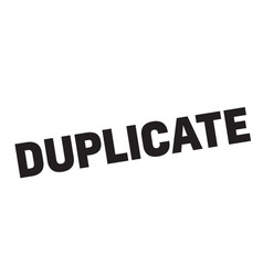 Duplicate stamp typ vector