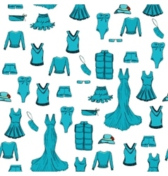 Fashion seamless pattern graphic style vector