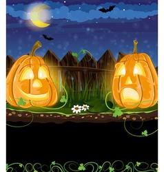 Funny Jack o Lanterns vector