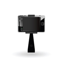 Selfie mobile phone vector