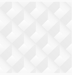 white geometric seamless texture - 3d vector image