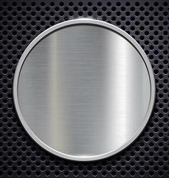 Steel plate Stock vector image