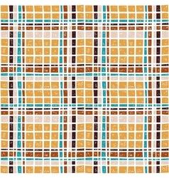 Plaid seamless pattern vector image