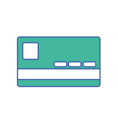 finance credit card economy technology vector image