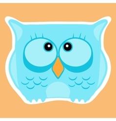 Funny cute animal owl Owl vector