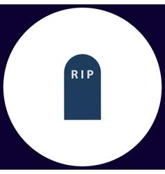 Grave computer symbol vector