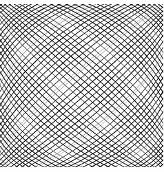Grid mesh intersecting lines pattern with convex vector