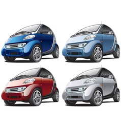 modern smart cars vector image