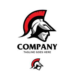 Spartan head symbol vector
