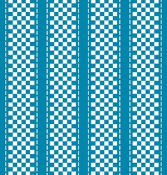 Blue and white checkered abstract background vector