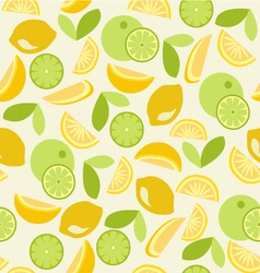 Citrus pattern Seamless vector