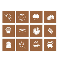 coffee icon 9 vector image