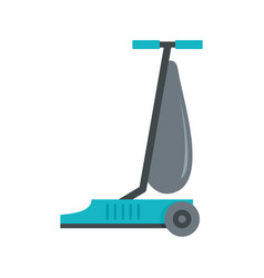 commercial vacuum cleaner icon flat style vector image