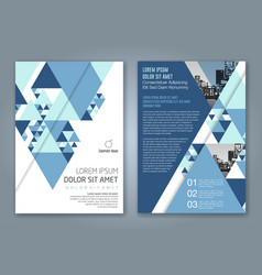 Cover annual report 1155 vector