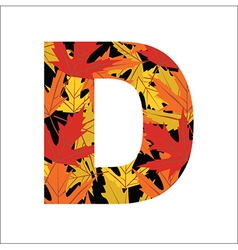 D Letter vector