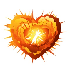 Heart Explosion vector image