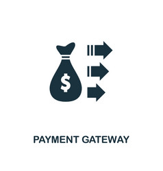 Payment gateway icon creative element design from vector