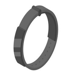 Smart bracelet icon isometric style vector