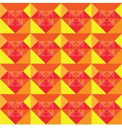 Squares seamless summer background design vector image