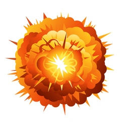 Radial Explosion vector image