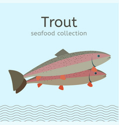 seafood collection image vector image