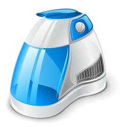 Air humidifier vector
