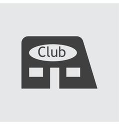 Club icon vector