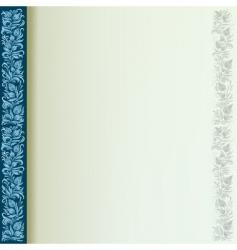 elegant page vector image