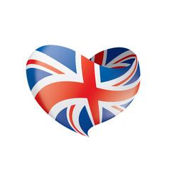 flag united kingdom vector image