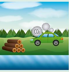 Biofuel ecology alternative vector
