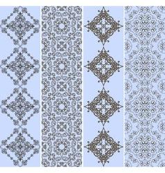 retro bookmarks vector image vector image