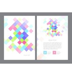 Brochure Flyer design Layout vector image