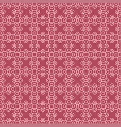 Abstract geometric pattern with lines seamless vector
