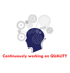 Continuously working on quality vector