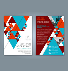 Cover annual report 1165 vector