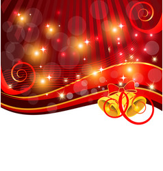 festive christmas background card template vector image