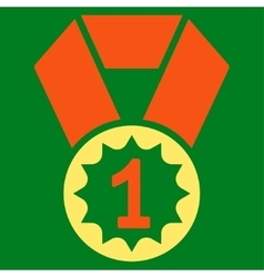 First place icon from Competition Success vector