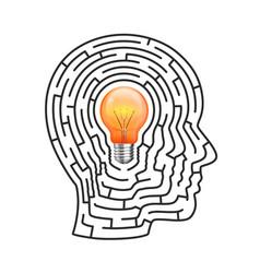 Idea of the labyrinth vector
