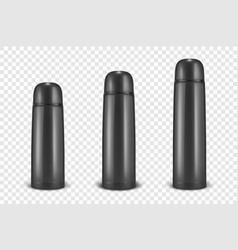 Realistic 3d different size - small medium vector