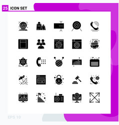 universal icon symbols group 25 modern solid vector image