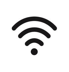wifi signal icon vector image