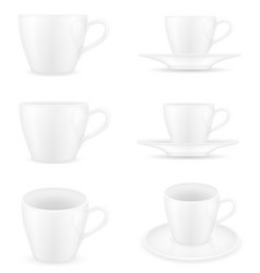 cup for coffee and tea stock vector image vector image