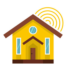 house icon isolated vector image