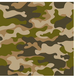 seamless pattern abstract military or hunting vector image
