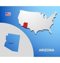 Arizona vector image vector image