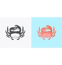 Funny Cartoon Crab vector image
