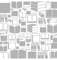 Book a background2 vector image