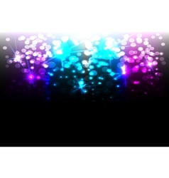 Magic disco background vector image vector image