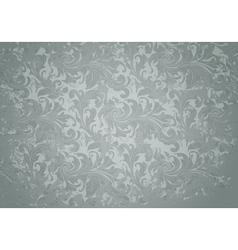 Grey Grunge Vintage pattern vector image vector image